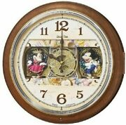 Seiko Clock Wall Clock Mickey And Friends Disney Time Fw587b From Japan Best Deal