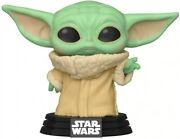 Star Wars The Mandalorian The Child Baby Yoda With Cup Pop Vinyl Bobblehead