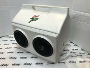 Playmate Kool Tunes Vintage 16qt Igloo Cooler Speakers Works Cherry 7up Updated