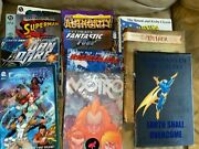 Pile Of 11 Various Graphic Novels-mix Of Super Hero/ Fantasy, Used, 8 Softcover