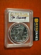 2016 S Silver Eagle Pcgs Ms70 Struck At San Francisco Jim Bunning Signed Pop25