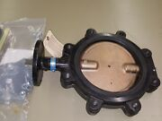6 - Milwaukee Valve Ml-233e 8 Butterfly Valves Pipe Size 8 In Lever Handle