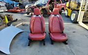 2020 Toyota Supra Gr A90 Launch Edition Seats Red Leather Oem