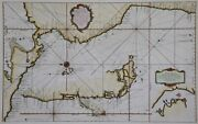 South America Western Coast - Pacific - Rare Map By Bellin 1750 -