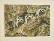 Hole In The Wall Gang Alan Hunt Limited Edition Lithograph 494/950 W/coa