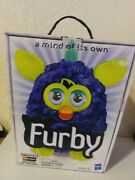 Furby Blue/yellow By Hasbro 2012 Rare Never Out Of Box
