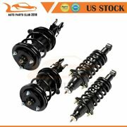 For Honda Civic 01-05 4 Pcs Quick Install Complete Struts Shocks Springs And Mount