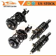 For Honda Civic 03-05 4 Pcs Quick Install Complete Struts Shocks Springs And Mount