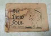 Antique 1920and039s/30and039s Tijuana Bible 8-pager Timid Soul Goes Fishing Booklet Comic