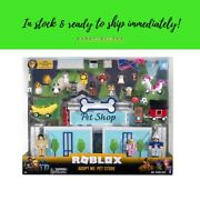 Priority Sh Roblox Celebrity Collection Adopt Me Pet Store Deluxe Playset 40 Pcs