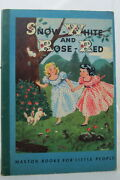 Brothers Grimm Snow-white And Rose-red Maxton Books For Little People 1946