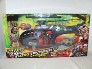 Lanard Toys The Corps Elite Flying Fortress And Battlezone Tower Set. New