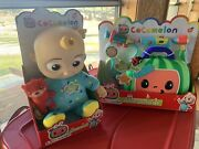 Brand New Cocomelon Musical Bedtime Jj Doll And Musical Doctor Checkup Set