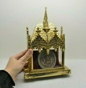 + Ornate Gothic Reliquary Shrine With Over 20 Relics St Francis M. Mag. Cu5