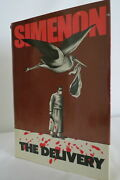 Georges Simenon The Delivery 1981 First American Edition 1st Printing