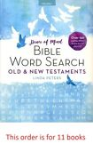 11 Peace Of Mind Bible Word Search Old And New Testaments Large Print 150 Puzzles