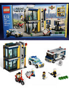 🔥lego City Bank And Money Transfer 3661 Retired Set Cib W/figures,box And Manual