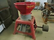 Antique Sprout Waldron And Co. Muncy Pa Corn / Grain Grist Mill Burr Mill Grinder