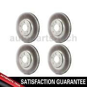 4x Centric Parts Front Rear Disc Brake Rotor For Mercedes-benz Ml320 20072009