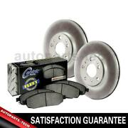 3x Centric Parts Front Disc Brake Pad Set Disc Brake Rotor For Gmc 19952001