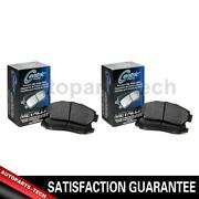 2x Centric Parts Front Rear Disc Brake Pad Set For Ford Thunderbird 19961997