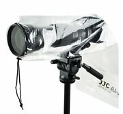 Jjc Ri-5 2x Camera Rain Cover Protector For Dslr With Lens Up To 18 And Flash