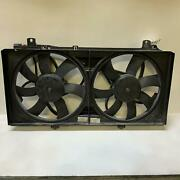 2011 Chevy Camaro 3.6l Electric Engine Cooling Fans And Motors Assembly Used Oe