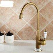 Kitchen Faucets Antique Bronze Faucet Mixer Tap With Ceramic Crane Cold And Hot