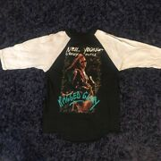 Neil Young And Crazy Horse Ragged Glory 1991 Tour 3/4 Shirt Vintage Ds Large