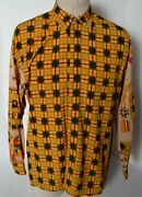 Creme De Silk New Vintage Marching Band Design 75 Silk And 25 Rayon Shirt M