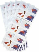 Lot Of 5 The Snowy Day - Usps Forever Booklets = 100 Stamps Peter Red Snowsuit