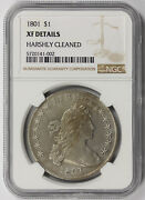 1801 Draped Bust Dollar Silver 1 Xf Details Ngc