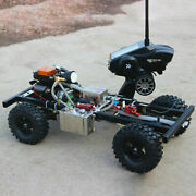 110 Diy Modified Gas Powered Rc Car Without Car Body Shell With 4 Channel Remot