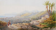 Leclerc Watercolor Landscape America The South View Azores Madeira