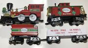 Lionel 711792 North Pole Central Lines Merry Christmas Train Set No Remote/track