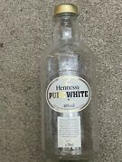 Hennessy Pure White Cognac Empty Liquor Bottle Collectible Not Sold In Usa