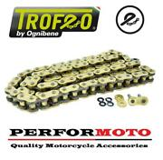 Trofeo Trb Super Hd 114 Link X-ring Gold Chain To Fit Yamaha Mt-10 / Sp 16-45