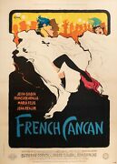 Poster Original Film - R. Oatmeal - French Can - Moulin Rouge Edith Piaf 1955