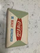 Vintage Coca Cola Playing Cards Be Really Refreshed Masquerade Full Deck