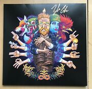 Tyler Childers Country Squire Black Vinyl Autographed Signed New - Last Copy