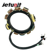 Stator For Yamaha Outboard 688-85510-10-00/11-00 75/85/90hp 15amp 3cyl 1988 1989