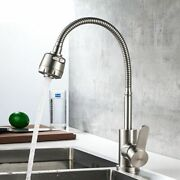 Kitchen Faucet Single Handle Sink 360 Degree Rotatable Spout Pull Down Mixer Tap