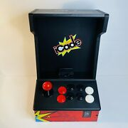Ion Icade Retro-style Bluetooth Arcade Cabinet Video Game Controller For Ipad