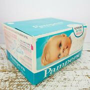 Vintage 1970and039s Boxe Pampers Disposable Diapers For Babies Retro Baby Kids