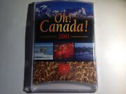 2001 Unc Coin Set, Oh Canada. New Bl4a