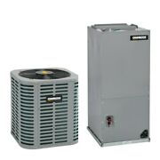 Oxbox - 2.5 Ton Cooling - Air Conditioner + Air Handler Kit - 15.0 Seer