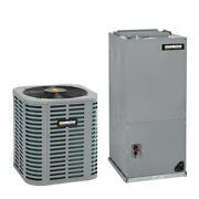 Oxbox - 1.5 Ton Cooling - Air Conditioner + Air Handler Kit - 16.0 Seer
