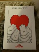 Sold Out Kaws Holiday Cards Box Of 25 Le 1000 Ship Same Day New York Food Bank