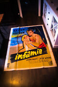 The Come On John Farrow 4x6 Ft Vintage French Grande Movie Poster 1956 Used