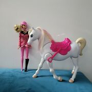 Barbie And Her Sisters In A Pony Tale Train And Ride Horse And Barbie Not Worki